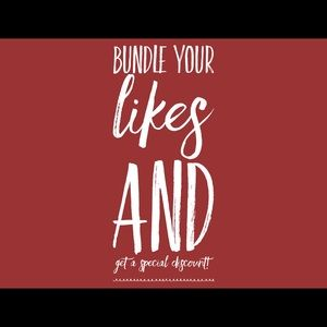 Other - ❤️ BUNDLE YOUR LIKES ❤️